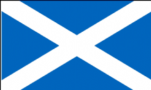"SCOTLAND ST ANDREW (LIGHT BLUE) - 18"" X 12"" FLAG"